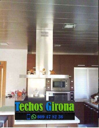 Techos de aluminio en Riudarenes Girona