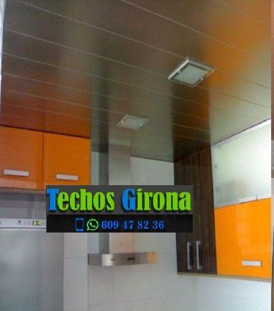 Techos de aluminio en Riudellots de la Selva Girona