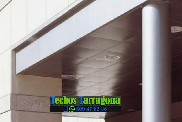Techos de aluminio en Rocafort de Queralt Tarragona
