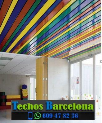 Techos de aluminio en Sant Iscle de Vallalta Barcelona