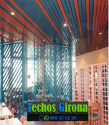 Techos de aluminio en Sant Mori Girona