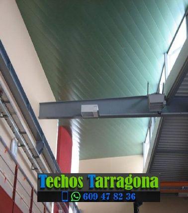 Techos de aluminio en Vilallonga del Camp Tarragona