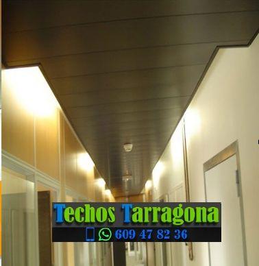 Techos de aluminio en Vinebre Tarragona