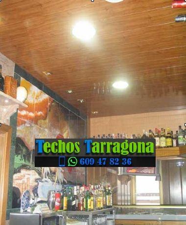 Techos de aluminio en Vinyols i els Arcs Tarragona