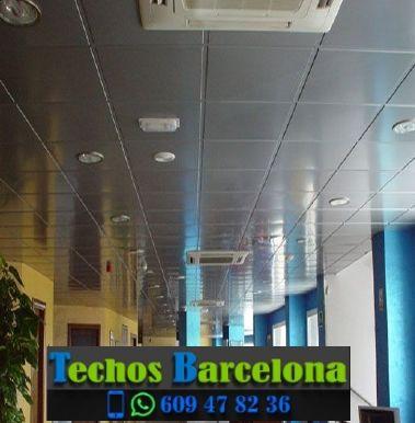 Trabajos profesionales montadores techos metálicos Barcelona