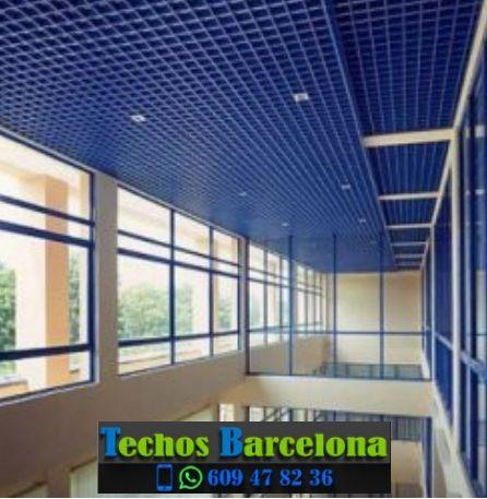 Trabajos profesionales techos desmontables Barcelona