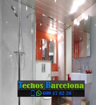 Montaje de techos de aluminio en Perafita Barcelona