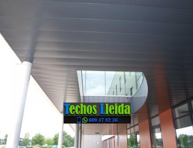 Montajes de techos de aluminio en Bausen Valle de Arán Lleida