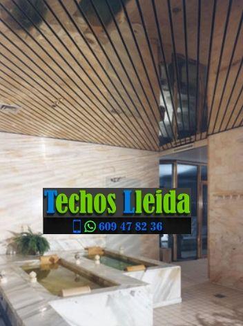 Montajes de techos de aluminio en Canejan Valle de Arán Lleida