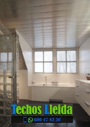 Montajes de techos de aluminio en Castelldans Lleida