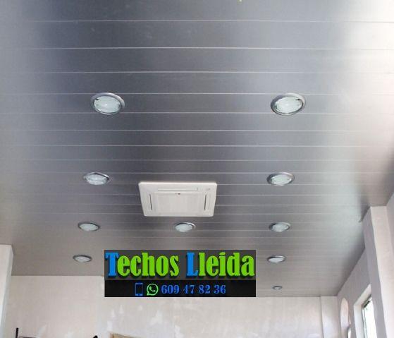 Montajes de techos de aluminio en Juncosa Lleida
