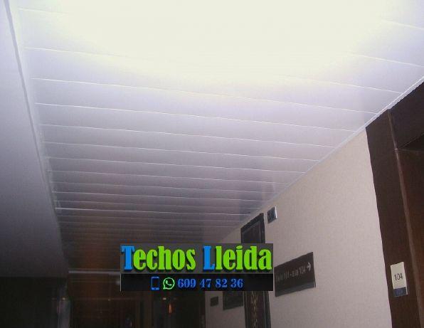 Montajes de techos de aluminio en Miralcamp Lleida