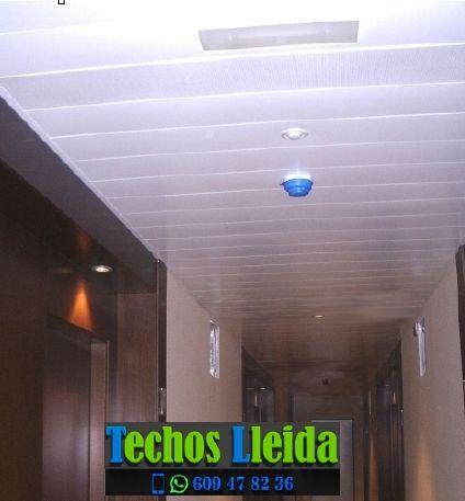 Montajes de techos de aluminio en Vilaller Lleida