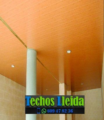Presupuestos de techos de aluminio en Alcanó Lleida