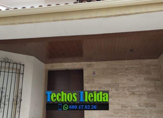 Presupuestos de techos de aluminio en Alfés Lleida