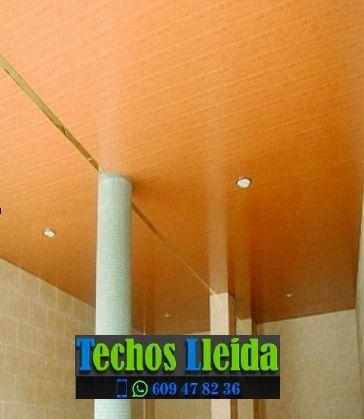 Presupuestos de techos de aluminio en Algerri Lleida