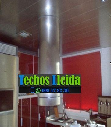 Presupuestos de techos de aluminio en Alguaire Lleida
