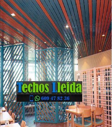 Presupuestos de techos de aluminio en Begós Valle de Arán Lleida
