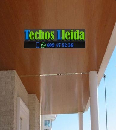 Presupuestos de techos de aluminio en Belianes Lleida