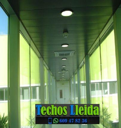 Presupuestos de techos de aluminio en Canejan Valle de Arán Lleida
