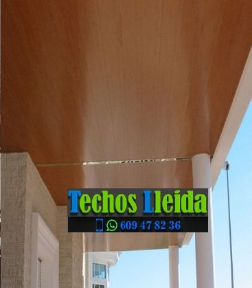 Presupuestos de techos de aluminio en Cava Lleida