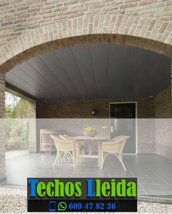 Presupuestos de techos de aluminio en Els Torms Lleida
