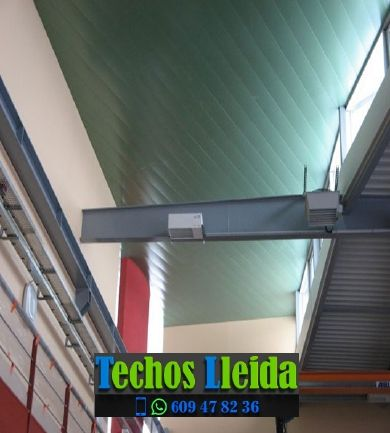 Presupuestos de techos de aluminio en Espot Lleida