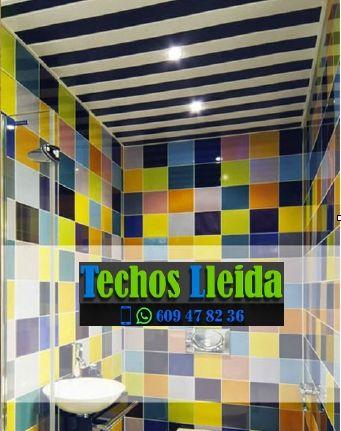Presupuestos de techos de aluminio en Estaràs Lleida
