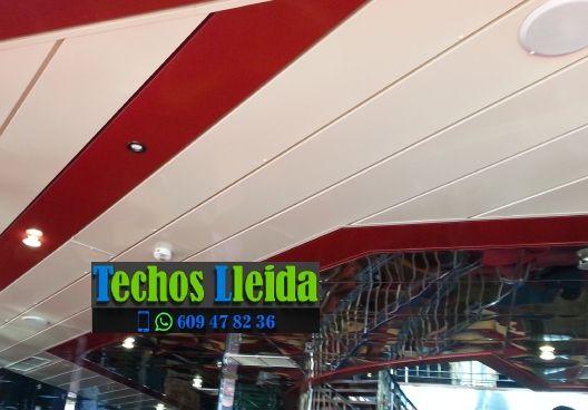 Presupuestos de techos de aluminio en La Granadella Lleida