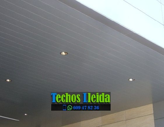 Presupuestos de techos de aluminio en La Pobla de Segur Lleida