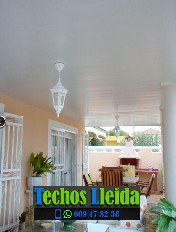 Presupuestos de techos de aluminio en Llardecans Lleida