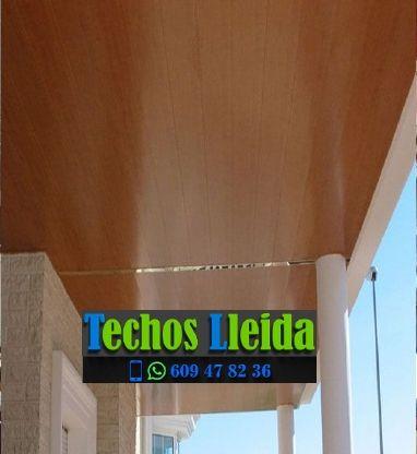 Presupuestos de techos de aluminio en Nalec Lleida