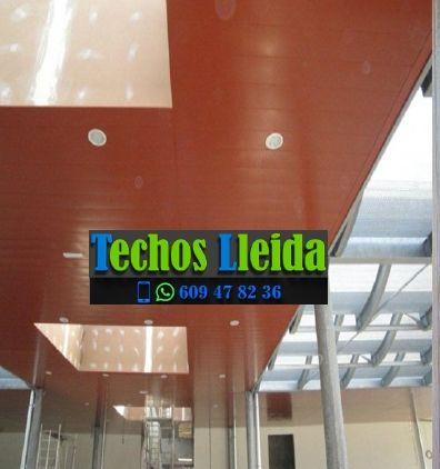 Presupuestos de techos de aluminio en Olius Lleida
