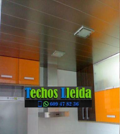 Presupuestos de techos de aluminio en Pinós Lleida