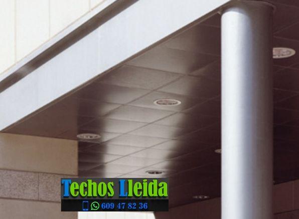 Presupuestos de techos de aluminio en Prats i Sansor Lleida