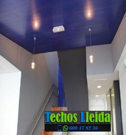 Presupuestos de techos de aluminio en Preixana Lleida
