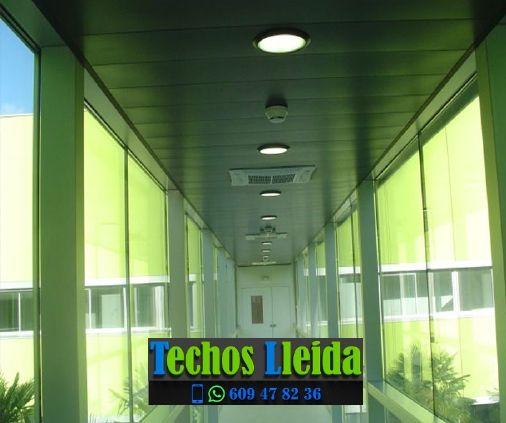 Presupuestos de techos de aluminio en Rialp Lleida