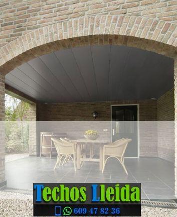Presupuestos de techos de aluminio en Sant Guim de la Plana Lleida