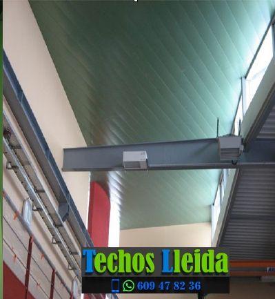 Presupuestos de techos de aluminio en Sarroca de Bellera Lleida