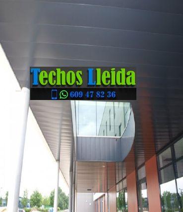 Presupuestos de techos de aluminio en Sarroca de Lleida Lleida