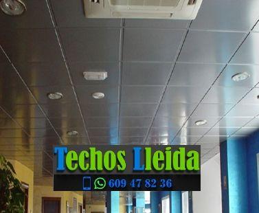 Presupuestos de techos de aluminio en Seròs Lleida