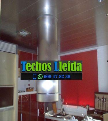 Presupuestos de techos de aluminio en Sidamon Lleida