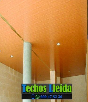 Presupuestos de techos de aluminio en Soriguera Lleida