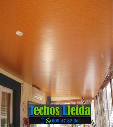 Presupuestos de techos de aluminio en Soses Lleida