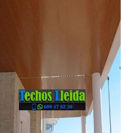 Presupuestos de techos de aluminio en Sunyer Lleida