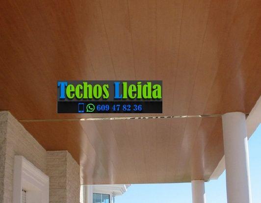 Presupuestos de techos de aluminio en Tarroja de Segarra Lleida