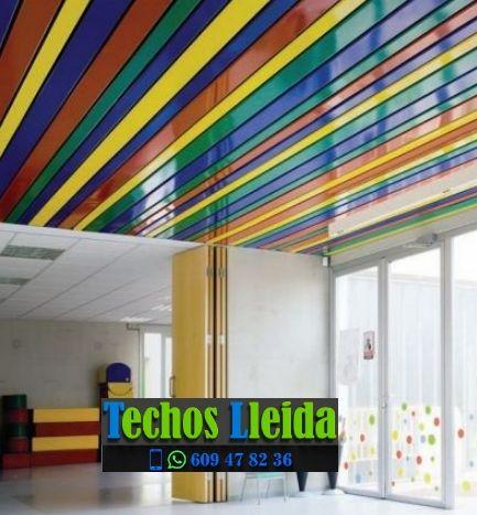 Presupuestos de techos de aluminio en Térmens Lleida