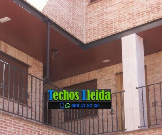 Presupuestos de techos de aluminio en Vilanova de la Barca Lleida