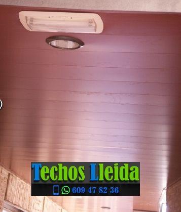 Techos de aluminio en Albesa Lleida