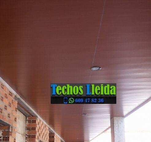 Techos de aluminio en Alfarràs Lleida